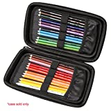 Hard Carrying Travel Case for Prismacolor Premier Colored Pencils Soft Core 24-Count by Aproca