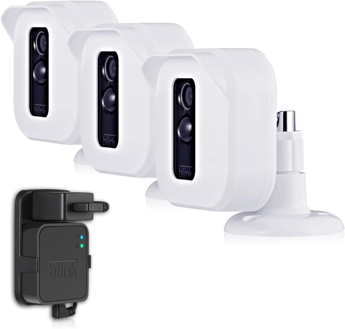 Blink XT2 Camera Mounts, Mrount Outdoor Weather Proof Housing with Adjustable Mount for Blink XT2/XT Cameras Home Security System, 3 Pack (White)