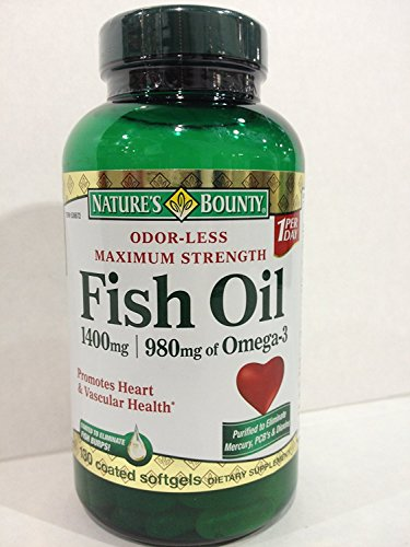 Cheap Natures Bounty Fish Oil