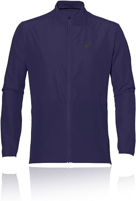 tempo orientación jurado  Fitness & Jogging Asics Essentials Woven Mens Running Jacket Blue Full Zip  Size Small Sport iletim.istanbul.edu.tr