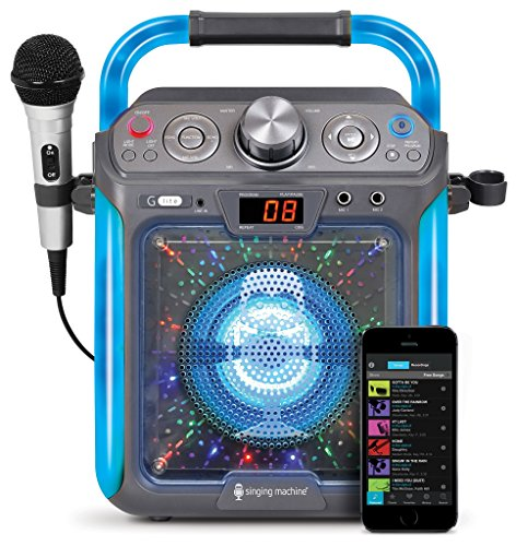 Singing Machine SML2082BTC Bluetooth G-Lite CD+G Karaoke System