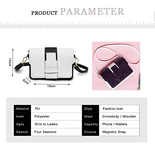 Sacchetto Yoome Flap Contrast Stile Alley Stile Borse Piccole Per Donne Borse Piccole Per Portafogli Trucco Per Ragazze