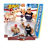 WWE Rumblers The Rock and John Cena Figure 2-Pack