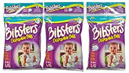 Neat Solutions Bibsters Disposable Bib - 36 ct
