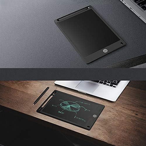 Dmxiezib 12 Zoll Erwachsene flache elektronische LCD-Malplatte Multifunktionsschreibtafel handbemalte Tafel Zeichenbrett Student handbemalte wiederbeschreibbare Tafel Radiergummi Funktion Sketch Board