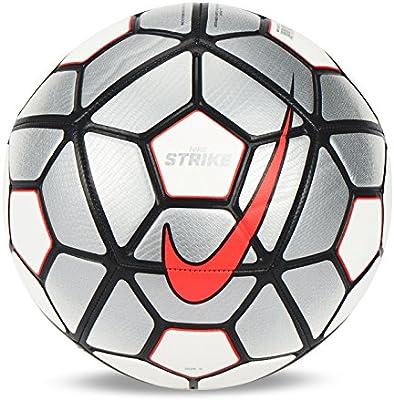 Nike STRIKE 2015-16 balón de fútbol blanco/rojo/plata SC2729-073 ...