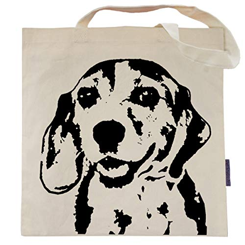 George the Beagle Tote Bag by Pet Studio Art