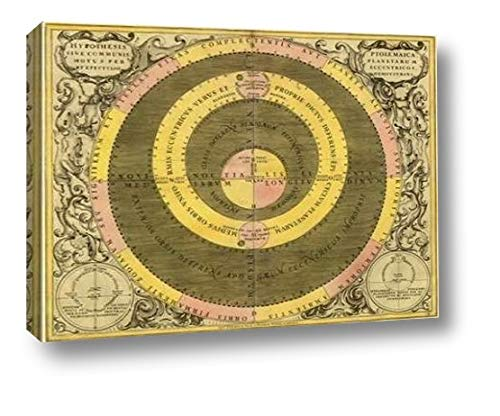 (Maps of The Heavens: Hypothesis Ptomlemaica by Andreas Cellarius - 17