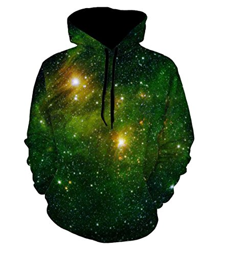 ZFADDS Hoodies Men/Women Hooded with Cap 3D Sweatshirt Print Paint Hoody Tracksuits Pullover Tops 6103 M (6103 Bluetooth)