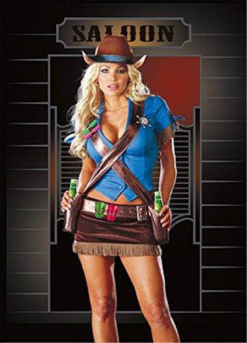Shoot'em Up Cowgirl Adult Costume - Medium