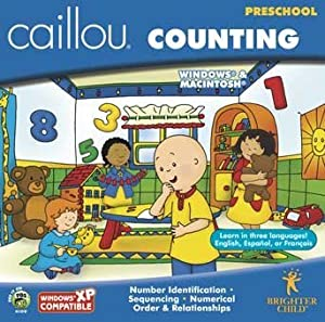 Caillou Counting Preschool by Brighter Child