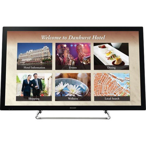 Sharp Aquos 1080p Lcd (Sharp - PN-L401C - 40in Aquos Board Interactive Display System With 10-point Capacitive Multi-touch)