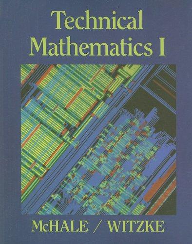 Technical Mathematics I (v. 1)
