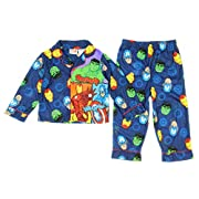 Marvel Avengers Baby Boys Toddler Flannel Pajama Set 12 Months