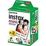 Instax  Película Mini, 2 Pack, color,  pack of/paquete de 2