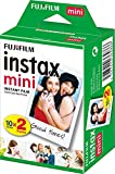 Fujifilm Instax Mini Twin Pack Instant Film [International Version],pack of 2 x 10 sheets (20 sheets)