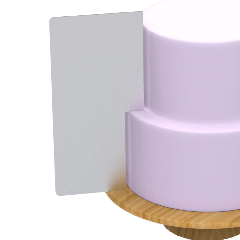 Modan Supplies New Buttercream Two Tier Crisp Sharp Corner Contour Comb Scraper