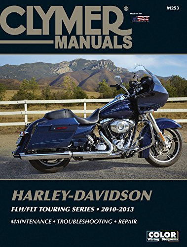 Manual Classic Owners - Harley-Davidson FLH/FLT Touring Series 2010-2013 (Clymer Manuals)