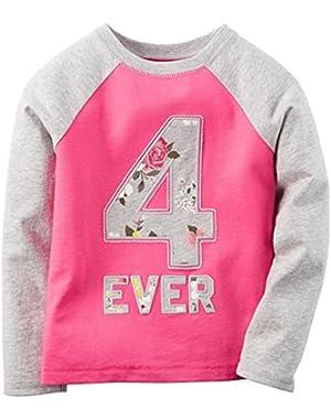 Baby Girls' Jersey Slogan Tee (Baby)
