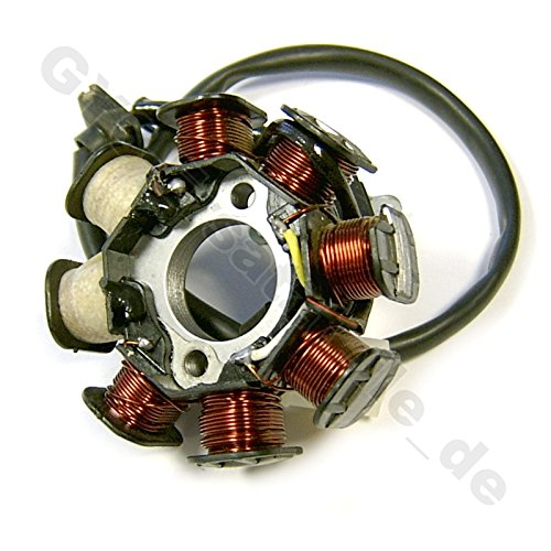 MAGNETO STATOR GENERATOR (2) 50-80CC 139 QMA/QMB 8 COIL/POLE CHINESE SCOOTER MOPED ATV GY6 4 STROKE BENZHOU TAOTAO PEACE VIP SUNL TANK JONWAY ROKETA BMS BAJA TNG SSR JCL VENTO ZNEN -  GY6-PARTS, RG-1886