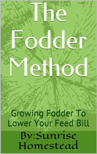 Homesteading 101  The Fodder Method: Growing Fodder To Lower Your Feed Bill