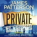 Private: No.1 Suspect Hörbuch von James Patterson, Maxine Paetro Gesprochen von: Scott Shepherd