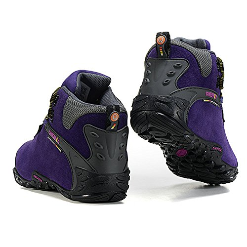 Onemix 2017 Men And Womens Outdoor Water Repellent Trainers Purpleblack GDIcoAGo75