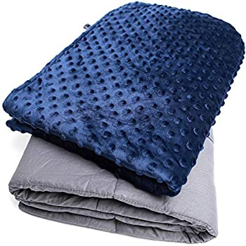 Gravaria Weighted Blanket for Kids 10 Pounds - Childrens Toddler Heavy Blanket with Removable Cover (41 inches x 60 inches)