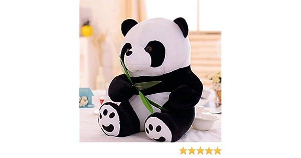 Amazon.com: Permanent de PANDA BEAR peluche animaux en peluche peluche poupée nouveau PAY: Toys & Games