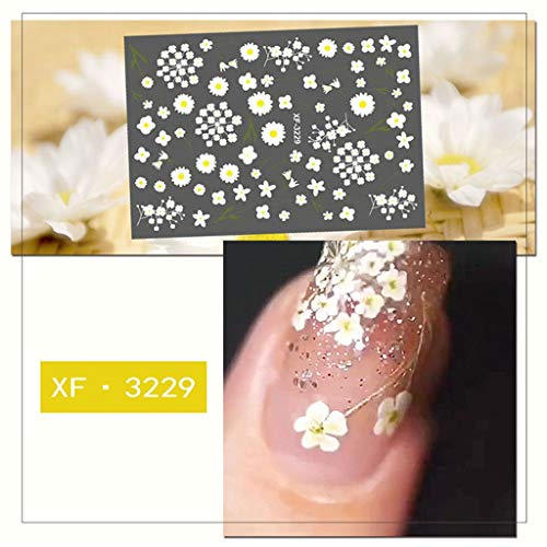 Eaktool Summer Colorful Fruit Patch Small Fresh Plants Cute 5D Nail -