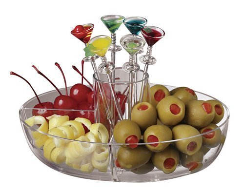Garnish Bowl With Picks Acrylic by Paderno