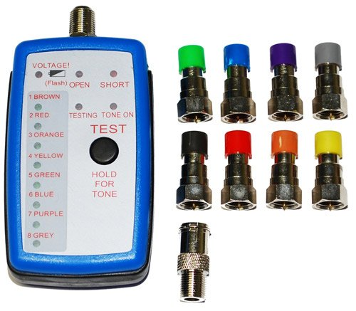 Coax Cable Locator : Advantage way coax cable locator mapper toner tracer