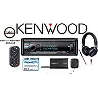 Kenwood KDC-X998 eXcelonCD Receiver with a SiriusXM Satellite Radio Tuner SXV300V1, Antenna and900 Series Kenwood Headphones KH-KR900with a FREE SOTS Air Freshener