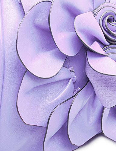 Handbag Noir Noir WORLD BEST femme Hei Violet BESTURN Pochette pour 9156 qWwZT0qAI