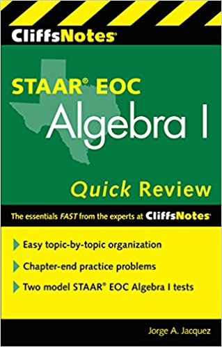 Cliffsnotes staar eoc algebra i quick review new edition jorge a cliffsnotes staar eoc algebra i quick review new edition edition kindle edition fandeluxe