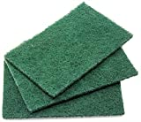 Heavy-Duty Scour Pad 60 Pack: High Abrasive Rating for Intense Scrubbing. 3.5 x 6. Best Used for Baked-On Messes. Restaurant & Commercial-Grade Scouring Pads. Bulk Wholesale Pack.