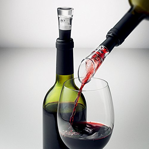 Menu Selection Wine Set with Decanting Pourer/Vacuum Stopper by Menu (Image #1)