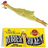12 Pieces (1 Dozen) Bulk Lot Chickens / Original World Famous Novelty Yellow Rubber Chicken