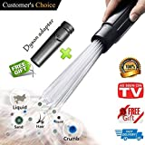 Universal Vacuum AttachmentsBrush Cleaner Dirt Remover Vacuum...