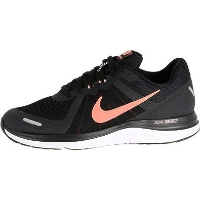 e5ed105e6b5ddc Nike Dual Fusion X2 Women s Jogging Running Shoes Black (UK-6.5-EU ...