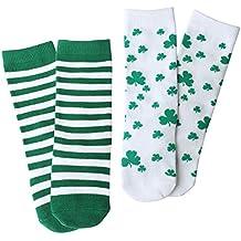 OLABB Toddler Girls Boys Knee Socks Baby Animal Knee High Stocking Gift Box