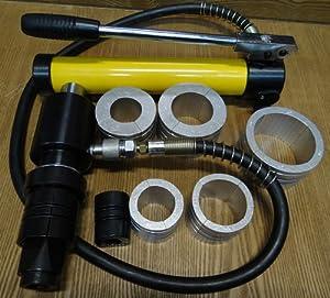 Amazon Com 10 Ton Hydraulic Hand Pump Amp Ram Exhaust Pipe