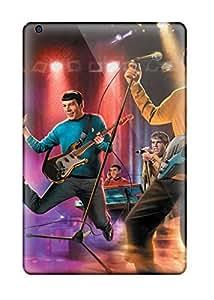High Grade La Angel Nelson Flexible pc Case For Ipad Mini/mini 2 - The Star Trek Band