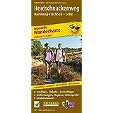 Heidschnuckenweg, Hamburg-Fischbek - Celle: Leporello Wanderkarte mit Streckenbeschreibung, Entfernungen und Höhenprofil, wetterfest, reißfest, ... 1:35000 (Leporello Wanderkarte / LEP-WK)