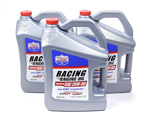 Lucas Oil Products 10616-3 20w50 Synthetic Racing Oil, 480. Fluid_Ounces