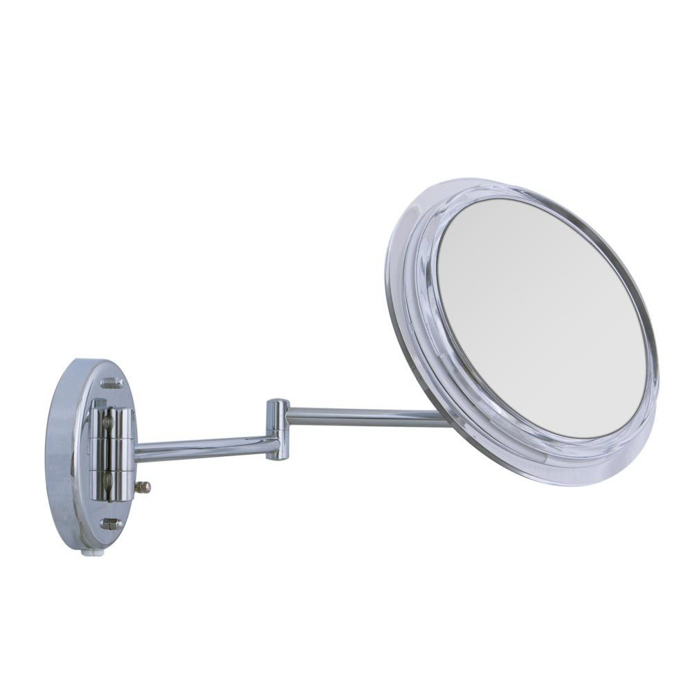 Amazon zadro wall mount surround light mirror with 7x amazon zadro wall mount surround light mirror with 7x magnification chrome finish beauty amipublicfo Gallery