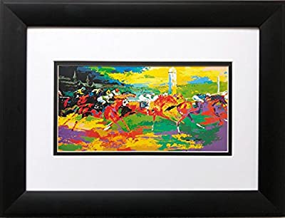 "Leroy Neiman ""Kentucky Derby"" Newly CUSTOM FRAMED Art Print"