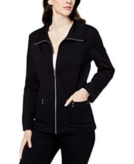 Amazon.com: Karen Scott Zeroproof - Chaqueta de forro polar ...