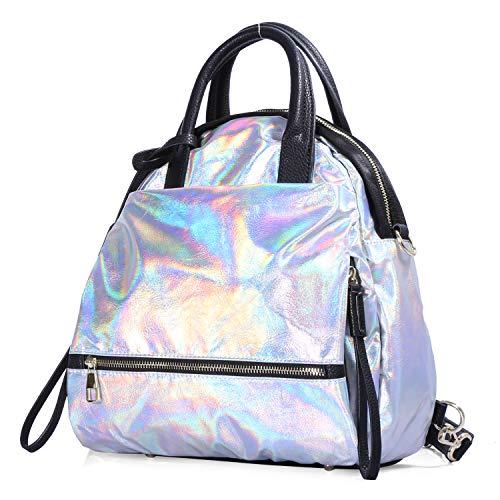 Abcolor Top Roomy 6201847 Women Bag Fashion Hobo PU Tote Shoulder Handle Girls Bag Satchel Bag Street Handbag YaHFqW