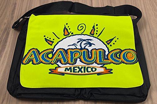 Borsa Tracolla Vacanza Agenzia Viaggi Acapulco Messico Stampato